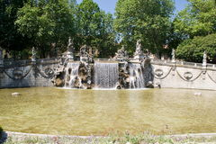 Fountain of the Twelve Months, Turin Royalty Free Stock Photos