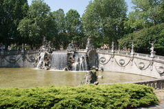 Fountain of the Twelve Months, Turin Royalty Free Stock Photography
