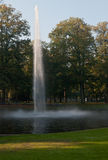 Fountain in the Valkenberg Park in Breda Royalty Free Stock Photo