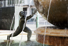 Fountain in Valladolid Royalty Free Stock Photography