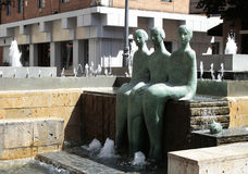 Fountain in Valladolid Royalty Free Stock Photo