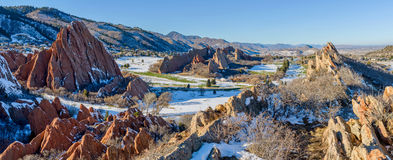 Fountain Valley at Roxborough State Park stock photography