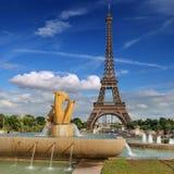 Fountain Varsovie. Stock Images