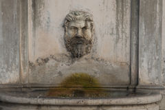 Fountain in Vatican Royalty Free Stock Photography
