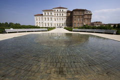 Fountain in venaria reale Royalty Free Stock Image