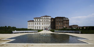 Fountain in venaria reale Stock Photography