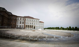 Fountain in venaria reale Royalty Free Stock Photography