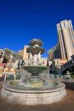 Fountain at Venetian Resort hotel and casino, Las Vegas, Nevada Royalty Free Stock Image
