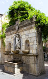Fountain of Venus Ciprea Castelbuono in Sicily Royalty Free Stock Photos