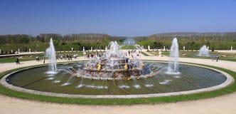 Fountain at Versailles Palace Stock Photos