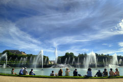 Fountain in Versailles, Paris Stock Photo