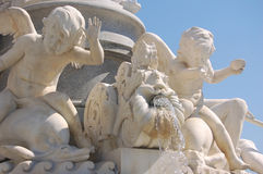 Fountain in Vienna Stock Image