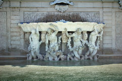 Fountain in Vienna, Austria Stock Photos