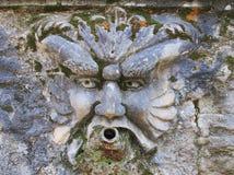 Fountain, Villa d'Este, Tivoli, Italy Stock Image