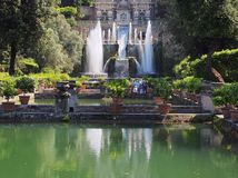 Fountain, Villa d'Este, Tivoli, Italy Royalty Free Stock Image