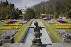 Fountain in villa taranto Royalty Free Stock Photo