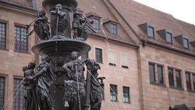 Fountain of the Virtues: Nuremberg, Germany. Fountain of the Virtues in Nuremberg, Germany, Europe Stock Photography