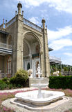 Fountain in Vorontsov Palace. In Alupka in Crimea Royalty Free Stock Photos