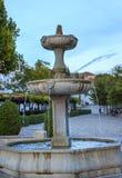 Fountain Walking Street Albaicin Granada Andalusia Spain Royalty Free Stock Photos