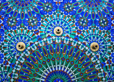 Fountain on the wall of Hassan II Mosque in Casablanca, Morocco. Stock Photo