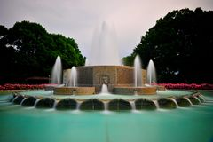 Fountain in Washington DC Royalty Free Stock Images