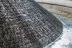 Fountain Water Closeup Stock Image