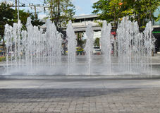 Fountain water Royalty Free Stock Images
