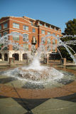 Fountain at Waterfront Park Royalty Free Stock Images