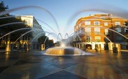 Fountain, Waterfront Park, Charleston SC royalty free stock photo