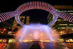 Fountain of Wealth royalty free stock photos
