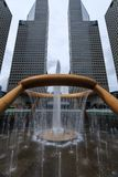 The Fountain of Wealth, it is the famous place in Suntec City, S Stock Photography