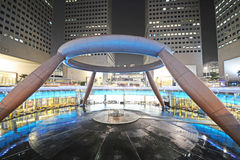 Fountain of wealth at suntec city, singapore Royalty Free Stock Image
