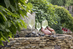 Fountain of Wine. Royalty Free Stock Photography