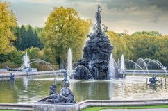Free Fountain With Water Stock Images - 102043134