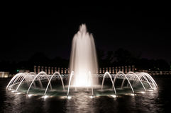 Fountain of World Wall II Memorial Royalty Free Stock Photography