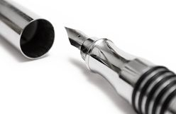Fountain Writing Pen (Close View) Royalty Free Stock Image