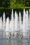 Fountain in Wroclaw in Poland.  Stock Images