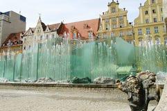 Fountain - Wroclaw - Poland Stock Image