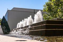 Fountain at Yerba Buena Gardens, San Francisco Royalty Free Stock Photography