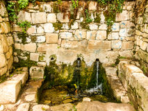 The Fountain of Youth of Isla del Sol Stock Photos