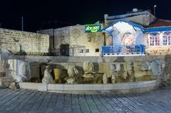 Free Fountain - Zodiac Signs - In The Kedumim Square In On Old City Yafo In Tel Aviv-Yafo In Israel Royalty Free Stock Photo - 107105665