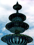 Fountain1. Fountain, water stopped in motion Royalty Free Stock Photo