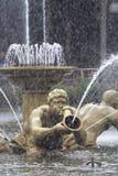 Fountaine de oro Fotos de archivo libres de regalías