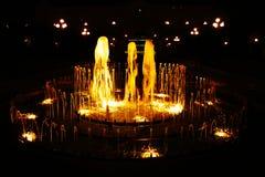 Fountaine de oro imagenes de archivo
