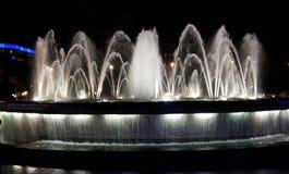 Fountaine en catalunya del placa Fotografía de archivo