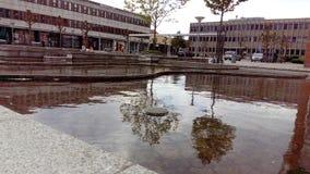 Fountaine vejen Dinamarca Foto de archivo