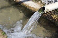 水Fountaining 免版税库存图片