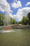 The fountains Stock Photography