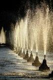 Fountains Royalty Free Stock Photos