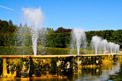 Mossy Fountains Royalty Free Stock Image
